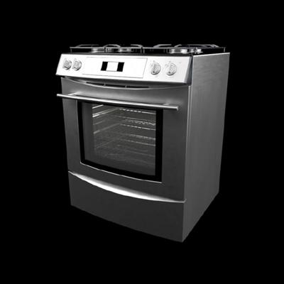 银色烤箱3D模型【ID:115283827】