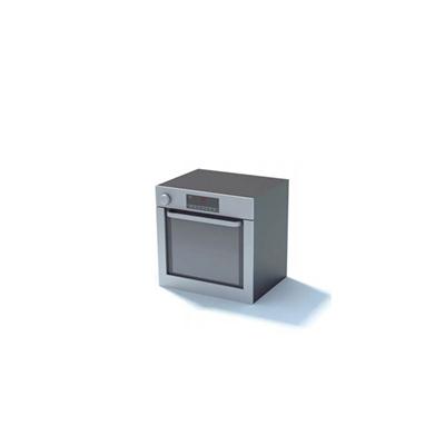 灰色烤箱3D模型【ID:115375889】