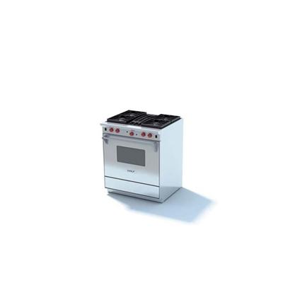 银色烤箱3D模型【ID:115376800】