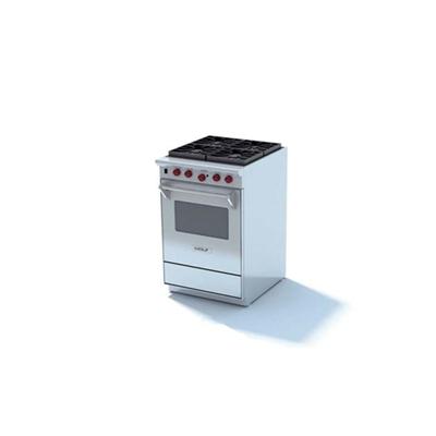 银色烤箱3D模型【ID:115376807】
