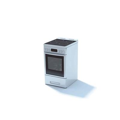白色烤箱3D模型【ID:115376820】