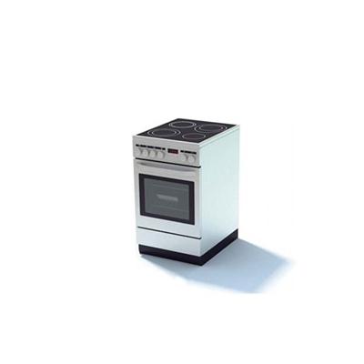 白色烤箱3D模型【ID:115376831】