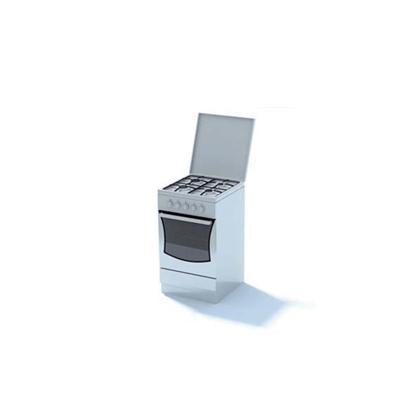 白色烤箱3D模型【ID:115376855】