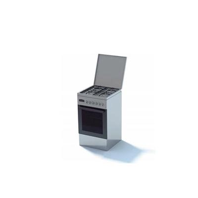 灰色烤箱3D模型【ID:115376862】