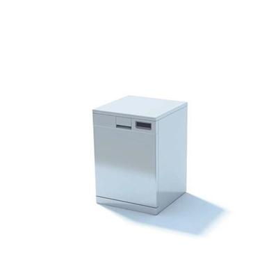 白色冰箱3D模型【ID:115378211】