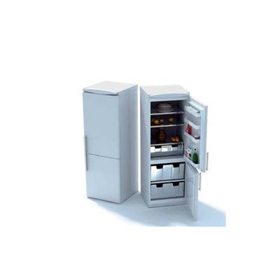 白色冰箱3D模型【ID:115378266】