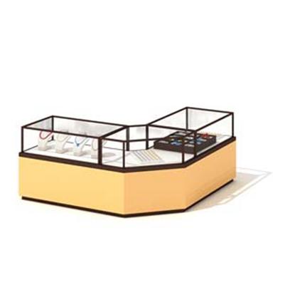 透明玻璃珠宝柜台3D模型【ID:115422721】