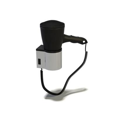 黑色吹风机3D模型【ID:115428678】