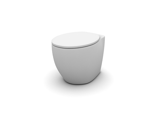 白色马桶193D模型【ID:115476967】
