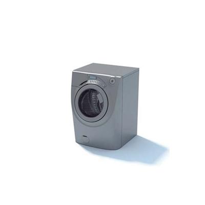 灰色洗衣机13D模型【ID:115478540】