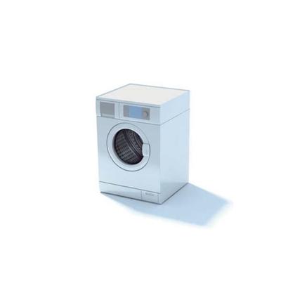 白色洗衣机23D模型【ID:115478546】