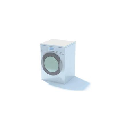白色洗衣机33D模型【ID:115478548】