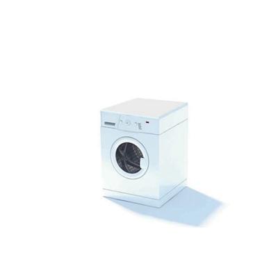 白色洗衣机53D模型【ID:115478552】