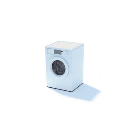 白色洗衣机63D模型【ID:115478555】