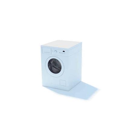 白色洗衣机93D模型【ID:115478560】