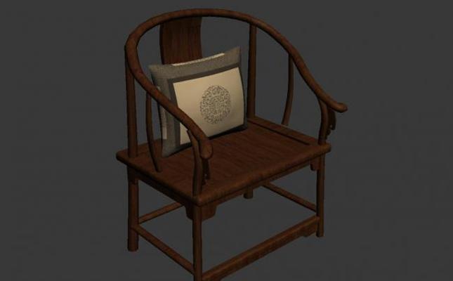 圈椅43D模型【ID:117023598】