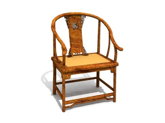 圈椅133D模型【ID:117024523】
