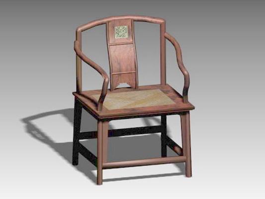圈椅193D模型【ID:117024531】