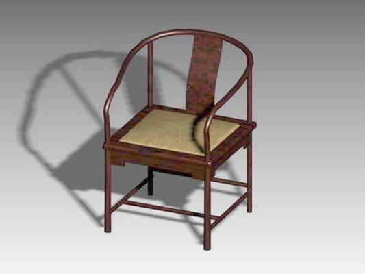 圈椅213D模型【ID:117024533】