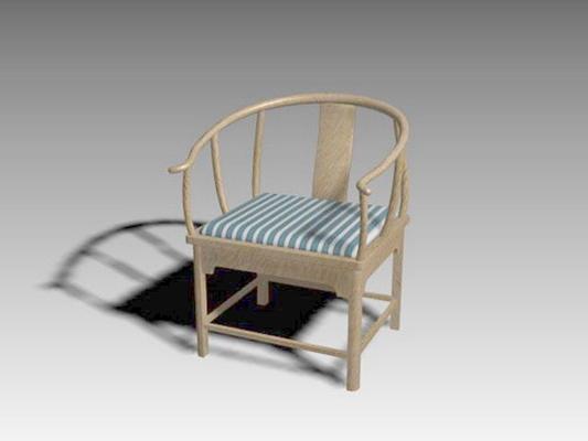 圈椅233D模型【ID:117024538】
