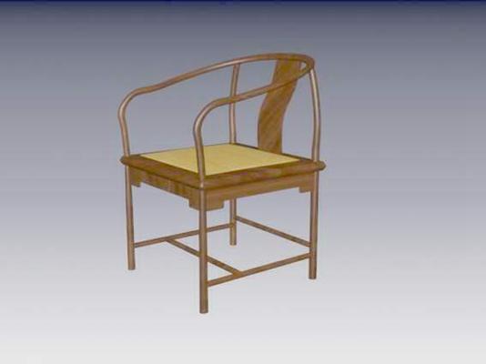 圈椅283D模型【ID:117024547】