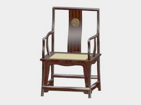 圈椅293D模型【ID:117024548】