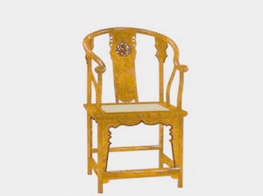 圈椅413D模型【ID:117024575】