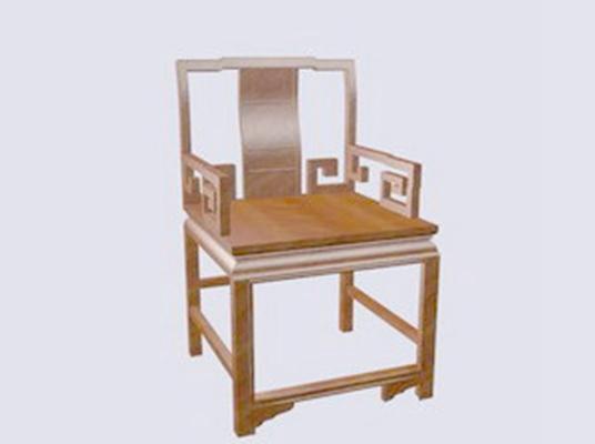 圈椅433D模型【ID:117024578】