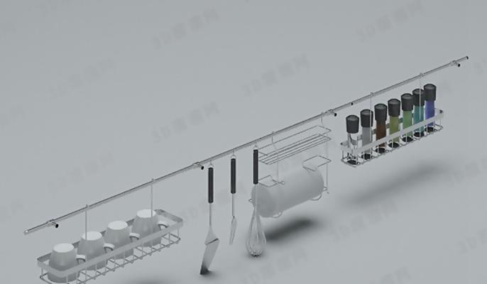 厨具组合193D模型【ID:117069567】