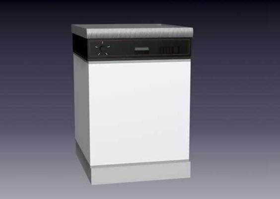 洗衣机23D模型【ID:117076580】