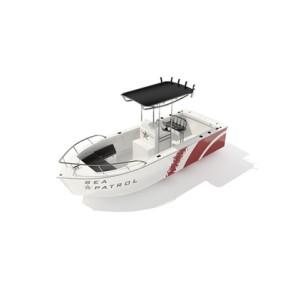 快艇23D模型【ID:117080142】