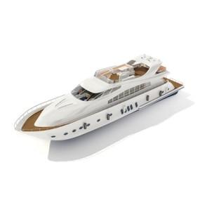 快艇43D模型【ID:117080154】