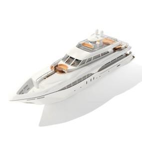 快艇73D模型【ID:117080165】