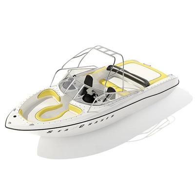 快艇93D模型【ID:117080171】