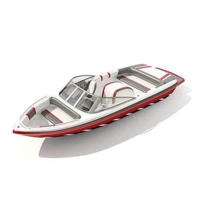快艇103D模型【ID:117080173】