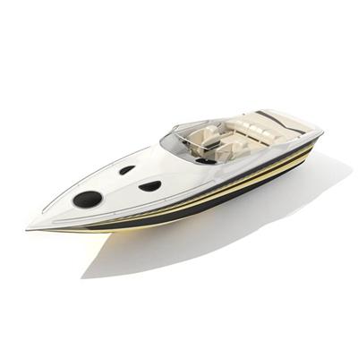 快艇163D模型【ID:117080197】