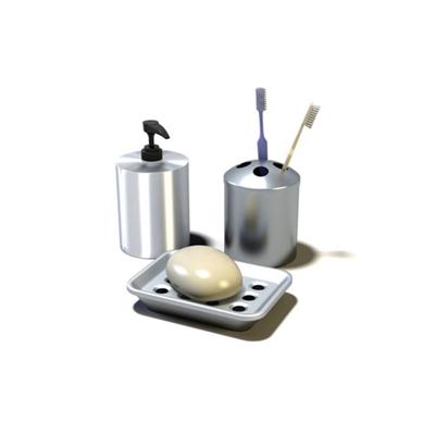 卫浴小件组合163D模型【ID:117082759】