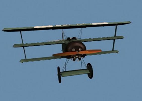 客机43D模型【ID:117122405】