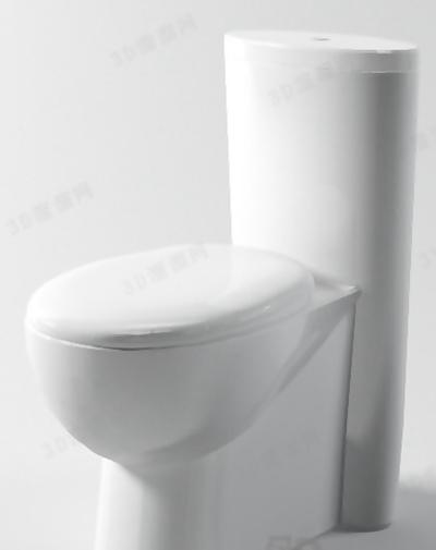 马桶43D模型【ID:117129924】