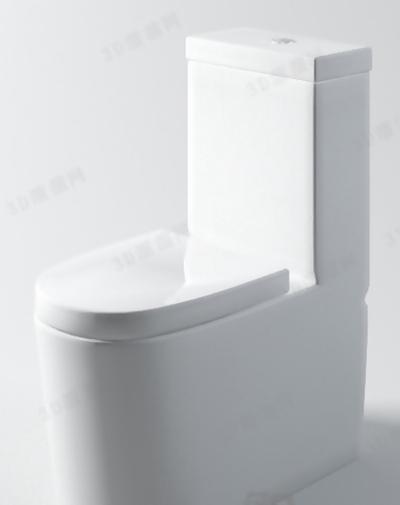 马桶153D模型【ID:117129945】