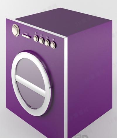 洗衣机13D模型【ID:117132551】