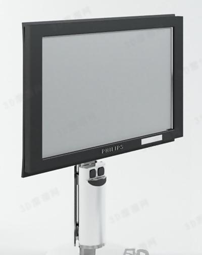 电视33D模型【ID:117134346】