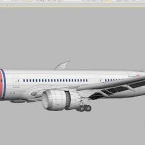 客机13D模型【ID:117136423】