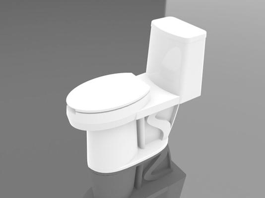马桶13D模型【ID:117136904】