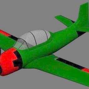 小型飞机23D模型【ID:117148573】