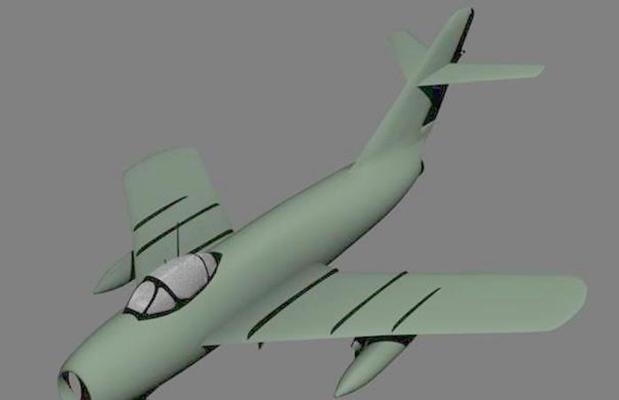 小型飞机43D模型【ID:117148575】