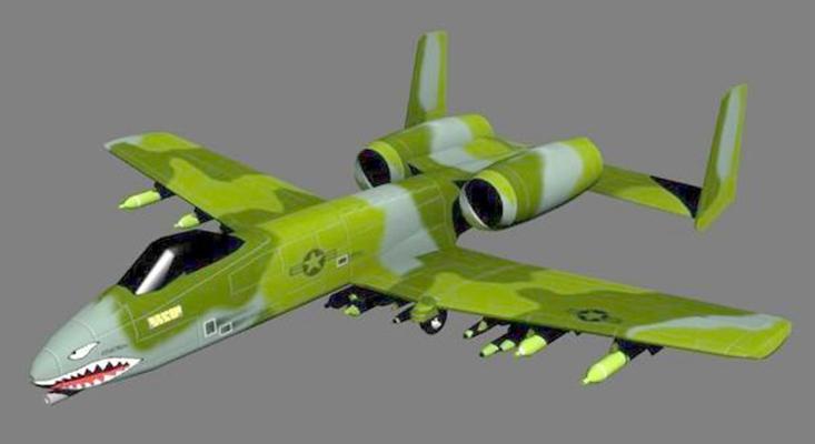 小型飞机63D模型【ID:117148578】
