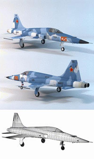 小型飞机173D模型【ID:117149501】