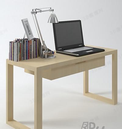 书桌13D模型【ID:117152966】