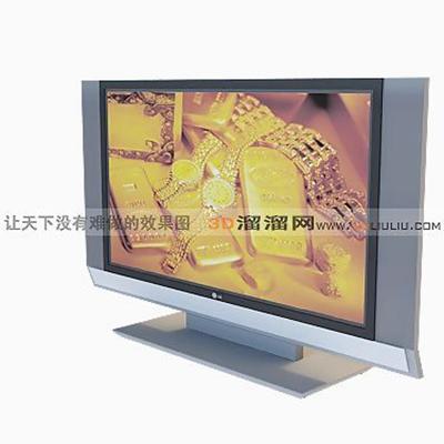 电视43D模型【ID:117215330】